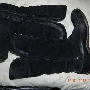 Womens North Face Black Boots